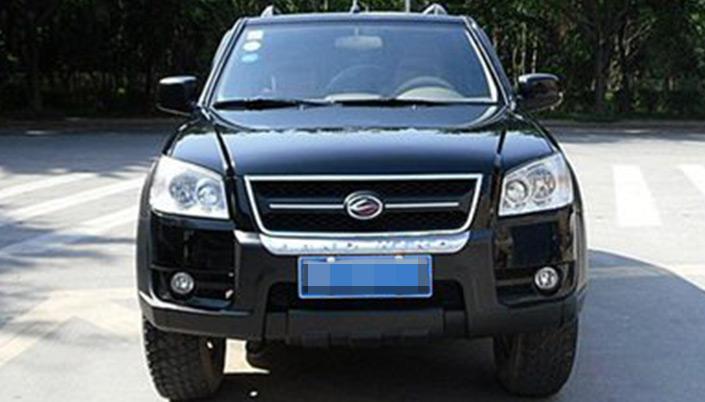 陆风x6 2011款 2.8t 四驱超值柴油版